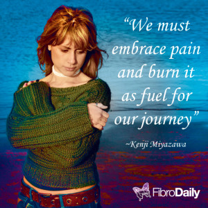 Kenji Miyazawa Quote on Manageing Pain