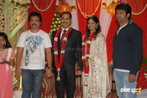 Uday Kiran Marriage Reception