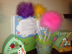 Truffula Trees from the Lorax by Dr. Suess