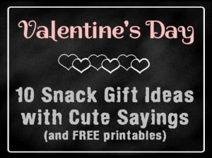 Valentine's Day Gift Ideas (Part 2)