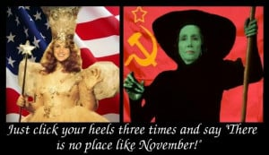 Ann Coulter And Michelle Malkin Witches Cartoon