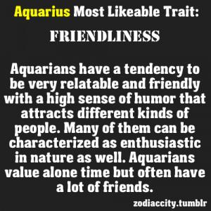 Aquarius Traits Female