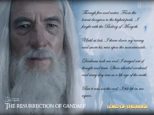Lord of the Rings Gandalf Quotes