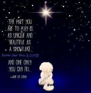 Snowflake Quotes And Sayings Unique like a snowflake quote