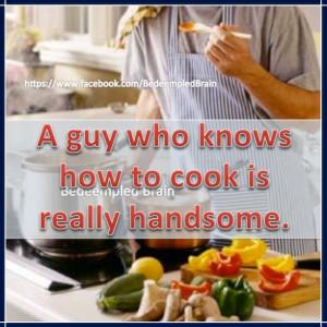 Husbands, Men, Cooking, Household