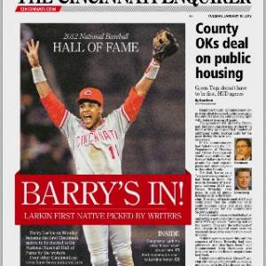 Barry Larkin... favorite player ever, I'm honored to have met him ...