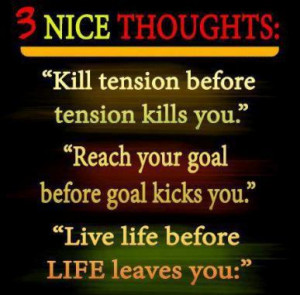 Nice thoughts of life