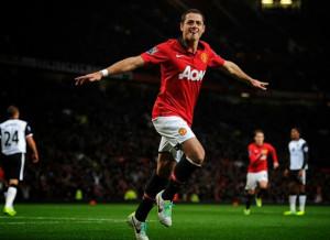United Manchester Javier Hernndez Chicharito