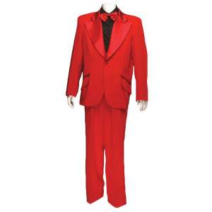 Dumb and Dumber Costume - 1970's Tuxedo - Red Tuxedo