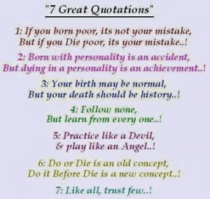 Great Quotations