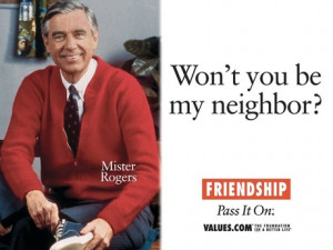 Friendship mister rogers