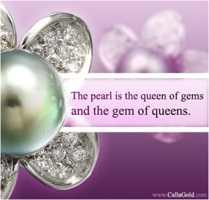 In this week's Gems of Wisdom I discuss my love of pearls and custom ...