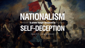 is power hunger tempered by self-deception. George Orwell Quotes ...