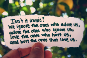 cute, ironic, love, ove, quotes, text, typography, words