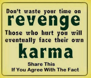 Karma and revenge