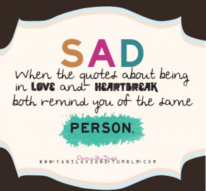 quotes about love and heartbreak saying