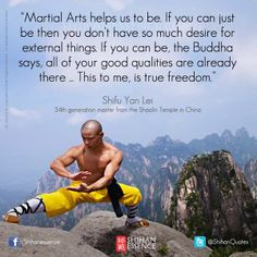 Kung Fu Inspirational Quotes