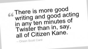 Good Quote About Writing