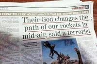 Israel) - Last week, a headline ran in the Jewish Telegraph, reading ...