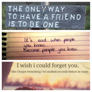Losing A Friend Quotes Losing friends is the worst:'(