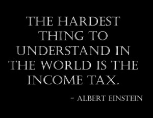 Tax Quotes and Sayings