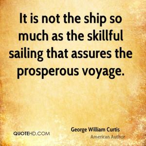 George William Curtis Quotes