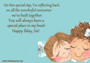 little sister birthday quotes images happy birthday sister quotes ...