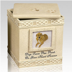 Pet urns with quotes