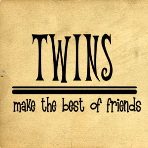 Twin Best Friend Quotes