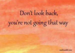 Look forward!