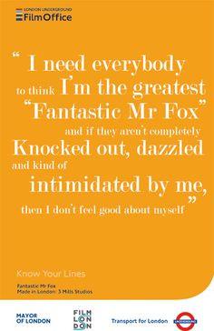 Fantastic Mr Fox Quotes Fantastic mr fox quote