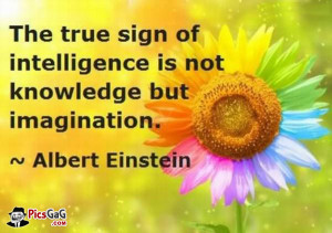 Signs Of Intelligence Quotes and Sayings By Albert Einstein. The true ...