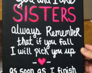 Popular items for sister quotes on Etsy