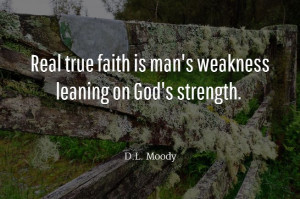 Faith Quote D.L. Moody