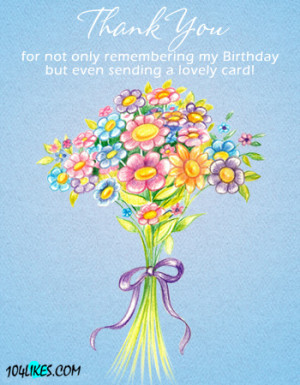 Birthday Thank You Quotes For Facebook Posted in thank you and tagged