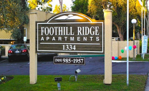 signs for property managers/apartments