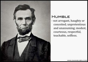 Lincoln is one of the most highly respected and admired leaders ...