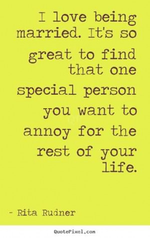That One Special Person You Want...