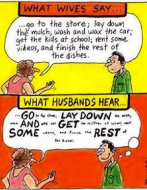 men vs women cartoon LMAO Funny Cartoon Joke!