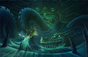 ... _sea_creature_sea_serpent_boat_dragon_picture_image_digital_art.jpg