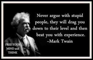When you come up against ignorant, close-minded prospects ... let them ...