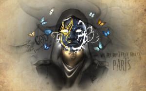 ... from the Underground Johnny 3 Tears artwork dark wallpaper background