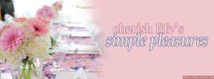 Cherish Lifes Simple Pleasures Cover