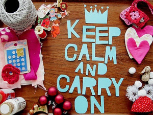 Keel calm #quotes