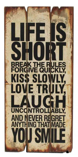 wooden wall signs | Large Solid Wood Vintage Rustic Wooden Wall Art ...