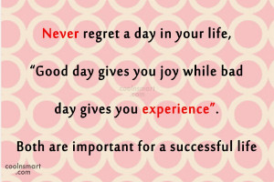 Regret Quotes and Sayings
