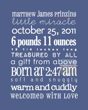 Newborn Baby Boy Quotes And Sayings