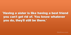 29 Funny Sister Quotes Which Are Fabulous