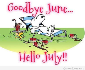 Hello July, it's summer time, so let's enjoy this! July is the ...