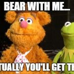 The Joke Image Tagged In Kermit Fozzie Made W Imgflip Meme Maker ...